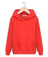 Wholesale The new autumn winter fleece sets han edition tide female students more loose and velvet hooded pure color coat