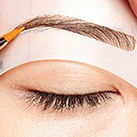 Wholesale Makeup New Style Cat Eyeliner Stencil For Eyebrows Eyeliner Stencil Kit Model For Eyebrows Template Top Bottom Liner Eye
