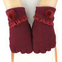 Finger Gloves active drive - 2017 Luxury Women Mink Glove Autumn Winter Warm Touch Gloves Korean Version Lovely Outdoor Plush Padded Bike Drove Down Wool Gloves
