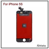 assembly stables - For iPhone S LCD Display with Touch Screen Full Set Assembly Replacement part Hight stable display Original Glass