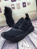 Wholesale 2017 A Discount NMD Runner Primeknit Running Shoes Men Women New High Quality Hot Sale Sneakers Free