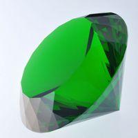 Wholesale green Wedding Souvenir Gifts mm green Crystal Glass Diamond Paperweight