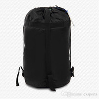 Wholesale HOT Outdoor Camping Sleeping Bag Nylon Light weight Compression Stuff Sack Bag Outdoor Camping Hiking Free DHL TNT Fedex