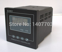 Wholesale Big Size water treatment conductivity controller tester with mA output and high low value limited relay