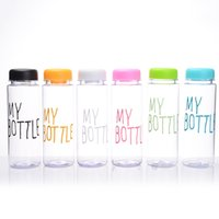 bags international - My bottle water Bottle Korea Style New Design Today Special Plastic Sports Water Bottles Drinkware With Bag Retail Package