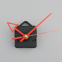 battery clock replacement - Silent Clock battery power Quartz Movement Mechanism Red Arrow Hand DIY Replacement Part Repair Tool Set
