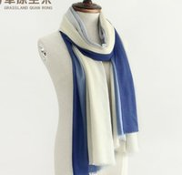 Wholesale 2017 new design woman s wool scarf Color changing Satin dyed shawl
