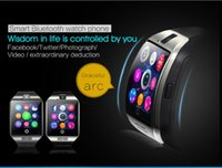 Wholesale Smart Watch Q18 with Touch Screen Camera TF Card SIM Bluetooth Wrist Watch for Android IOS Phone NFC Connection LCD Screen GB Support