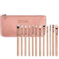 Wholesale Nice quality Zoeva pieces rose golden complete eye set eyeshadow eyeliner blending pencil makeup brushes
