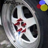 Wholesale 20 CAR hub tyre nut Refit Wheel Hub Nuts Tire Screw M12x1 Spiked Aluminium Alloy mm Nuts For Wheel
