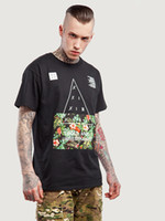 Wholesale 2017 spring summer new men s looseT shirt Europe and the United States street frower letter patternPrinted with short sleeves blouse