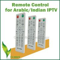 Vente en gros-Livraison gratuite Télécommande pour IPTV Arabe / Indien Set Top Box, télécommande pour IPTV Box avec les chaînes arabe / indien