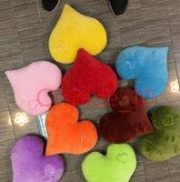 Wholesale 50PCS LJJH1079 Hot Sell emoji Heart pillows Cute LOVE QQ pillows colors valentine s day gift