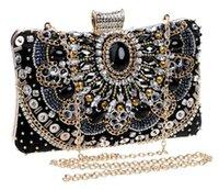 beaded purse frames - luxury Women evening bags beaded wedding handbags clutch purse evening bag for wedding day clutches purse evening bags