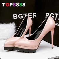 best platform pumps - Best Selling Size Colours Super High Heel Pumps Heel cm Platform cm PU Leather Shoes Sexy Woman Shoes ML3337