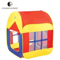 beach tent for babies - Colorful Casa Tent Children Beach Play House Tent For Kids Toys Multifunction Baby Tents Foldable Kids House With Window HT2395
