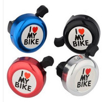 Wholesale New Bicycle Aluminium Alloy Bell Bike Horn Cycling Alarm Ring For Bicycle Saefty