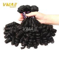 8a grade 100% vierge non transformé cheveux Funmi en ligne en gros 3 faisceaux brésilienne vierge humaine Duchess boucle naturelles cheveux noirs extensions
