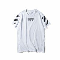 basic editions shirts - new edition Off White CO men short sleeve t shirt tee virgil abloh t shirt tee kanye west t shirt striped basic badketball fashion