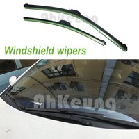 Wholesale for Hyundai Scoupe Car Windscreen Wiper U J Hook Soft Rubber All Weather Suitable Windshield Without bone scaffold