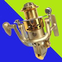aluminum casts - Fishing Reel Drop Shipping Spool Aluminum Spinning Fly Fishing Reel Bait Casting EF1000 Saltwater Okuma Metal Front Drag Molinete Pesca