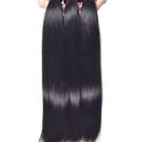 Wholesale Brazilian Hair Human Hair Weave Unprocessed Peruvian Indian Malaysian Cambodian Straight Hair Extensions A