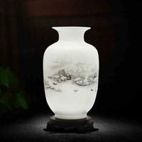 Wholesale Vintage Ceramic Vase Home Decoration Ancient Beauty Porcelain Vase Flower Decoration Adornment Handicraft Furnishing Articles