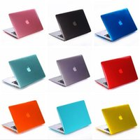 Wholesale For Macbook Air Pro Retina Touch Bar Crystal Clear Cases Full Protective Cover Case