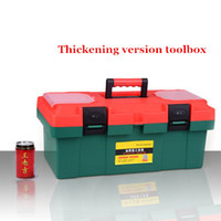 Wholesale Multifunctional inch Household Maintenance PP Plastic Storage Boxes Toolbox with Parts Storage Organizer