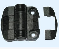 bearing hinges - 53mmx60mm Holes Ball Bearing Butt Position Control Free Swinging Hinge Black Size the same as SOUTHCO C6