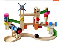 best wooden coaster - 2016 Latest Wooden Nut Roller Coaster Puzzle Toys Best Parent Child Game