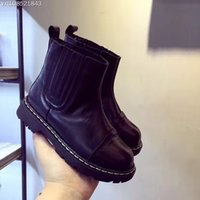 baby cowboy boots for girls - New Fashion Autumn Boots Winter Waterproof Childrens cowboy Boots Boys Girls Kids Martin Shoes for Toddlers Sale Baby Boy Shoes for Children