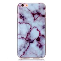 Wholesale New Luxury Granite Marble Texture Phone Cases for Apple iPhone Plus s Plus Soft TPU Stone Pattern Smooth Rear Cover