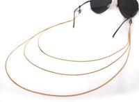 Wholesale GL091 pc best selling women eyewear jewelry layered gold chains sunglass lanyards