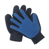 Wholesale Deshedding Pet Glove True Touch For Gentle And Efficient Grooming Removal Glove Bath Dog Cat Brush Comb DHL