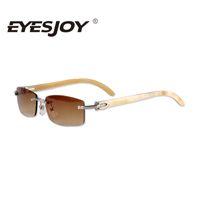 best driving sunglasses - Luxury Sun Glasses Brand Designer Sunglasses for Men Women White Buffalo Horn Rimless Driving Sunglasses Best Quality CT3524012