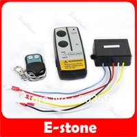 atv systems - V Electric Winch Wireless Remote Control System For Truck Jeep ATV Winch Warn Ramsey