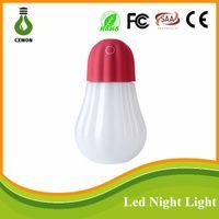 atomizing humidifier - Smart touch pumpkin mini humidifier Led night light Slient atomizing convenient USB charger led night light