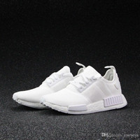 Wholesale Cheap Ups Shipped Shoes - 2017 Wholesale Discount Cheap New NMD Runner PK Primeknit Men's & Women's Running Shoes Fashion Running Sneakers Free Shipping With Box