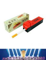 Filtros automáticos en rollo Baratos-2017 Nuevo filtro de tabaco de cigarrillo eléctrico del tubo individual Filtro de cigarrillo automático Rolling Machine Roller Injector Fabricante de cigarrillos Paquete de detalles MY