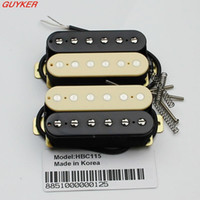 artec guitar pickups - Set of zebra Artec Maching Humbucker guitar pickups HBC115