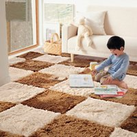 baby play areas - Wholesle Plush Soft Baby Playing Carpet Bedroom Living Room Shaggy Mat Modern Area Rug Floor Rugs JI0201