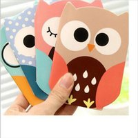 achat en gros de agenda-Vente en gros - Cartoon Creative Stationery Bloc-notes Matériel de bureau École Cute Cartoon Owl Organizer Notebook Student Diary