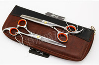 Wholesale 2016 Pro quot Salon Barber Hair Cutting Thinning Scissors Shears Hairdressing Set Newest Hair Care Styling Tools
