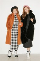 Wholesale 2016 autumn and winter new imitation Rabbit fur coat plush fake fur fashion coat hot sale FASHION