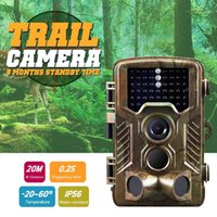 Wholesale 10PCS H801 IP56 Tactical Hunting Camera Waterproof Hunting Camera Infrared Trail Game Dustproof Precise for Outdoor Hunting Camping