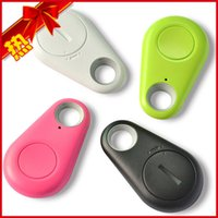 Wholesale Free DHL New Smart Bluetooth Key Finder iTag Bluetooth anti lost Smart Bluetooth pet cat dog kidsTracker itag Lost Reminder