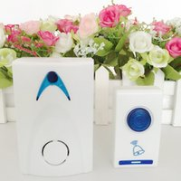 Wholesale LED pc wireless doorbell and wireless doorbell rang remote control tune song m C1 within the range of home office hotel