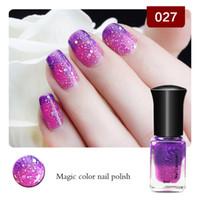 Wholesale Colors Bottle Esmalte Nail Polish Women Gel Nail Polish Nail Art Manicure Temperature Nailpolish Enamel Nail Varnish