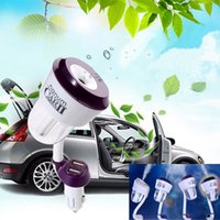 Wholesale Nanum II Car Charger Air Humidifier Vehicular essential oil ultrasonic humidifier Aroma mist car fragrance Diffuser DHL